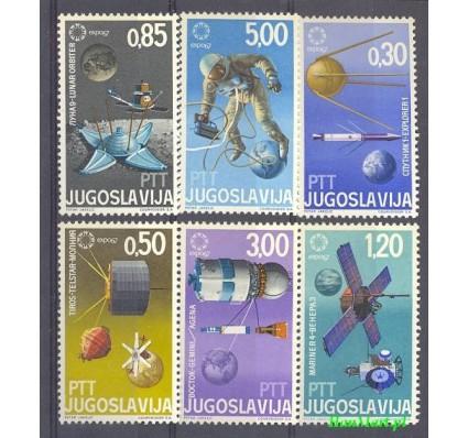 Jugosławia 1967 Mi 1216-1221 Czyste **