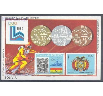Znaczek Boliwia 1980 Mi bl 102 Czyste **