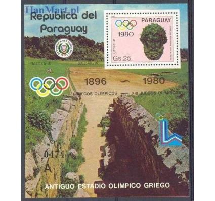 Znaczek Paragwaj 1980 Mi bl 359 Czyste **