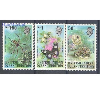 Znaczek Brytyjskie Terytorium Oceanu Indyjskiego 1973 Mi 54-56 Czyste **