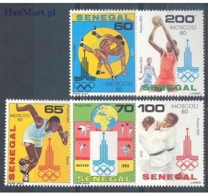 Senegal 1980 Mi 731-735 Czyste **