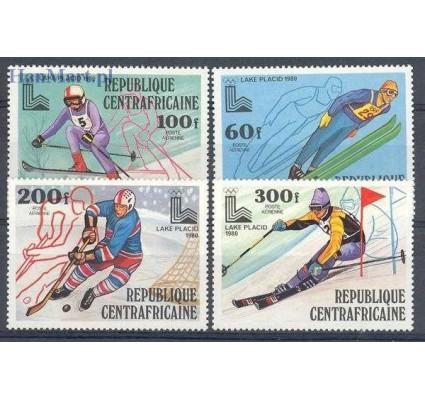 Znaczek Republika Środkowoafrykańska 1979 Mi 632-635 Czyste **