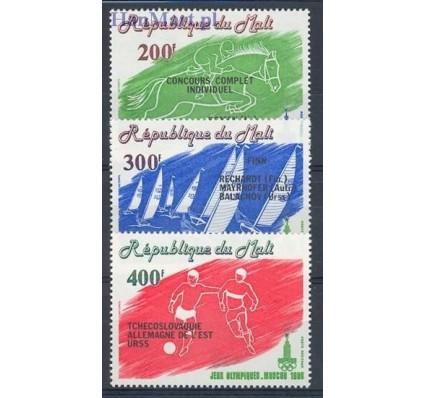 Mali 1980 Mi 794-796 Czyste **