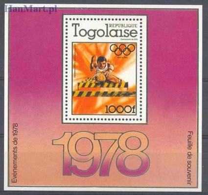 Znaczek Togo 1978 Mi bl 126 Czyste **