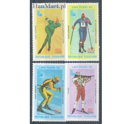 Togo 1980 Mi 1414-1417 Czyste **