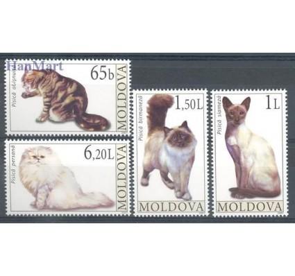 Znaczek Mołdawia 2007 Mi 586-589 Czyste **