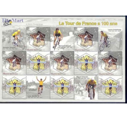 Francja 2003 Mi ark 3724-3725 Czyste **