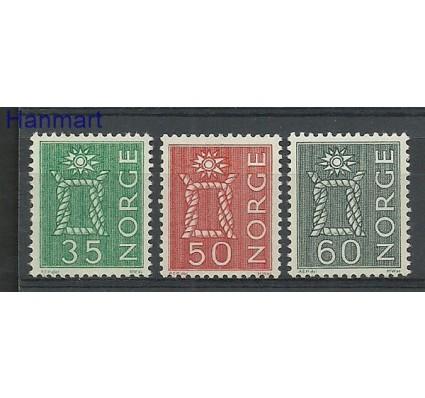 Znaczek Norwegia 1962 Mi 482-484 Czyste **
