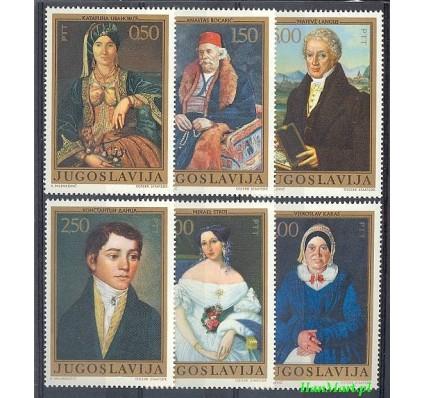 Znaczek Jugosławia 1971 Mi 1438-1443 Czyste **
