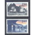Norwegia 1988 Mi 996-997 Czyste **