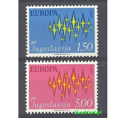 Jugosławia 1972 Mi 1457-1458 Czyste **