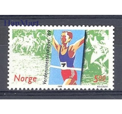 Znaczek Norwegia 1989 Mi 1014 Czyste **