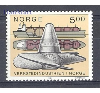 Znaczek Norwegia 1991 Mi 1061 Czyste **