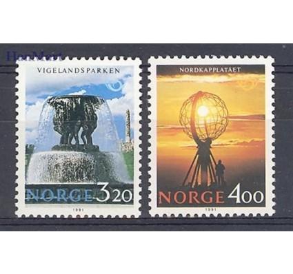 Znaczek Norwegia 1991 Mi 1068-1069 Czyste **