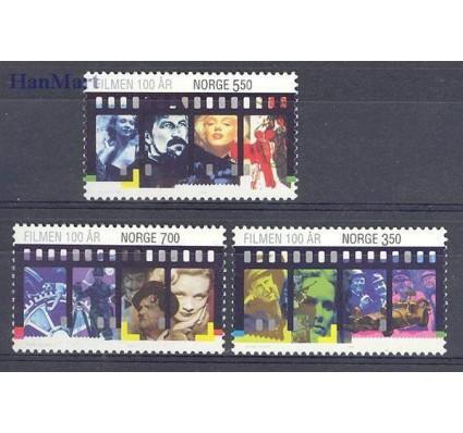 Znaczek Norwegia 1996 Mi 1215-1217 Czyste **