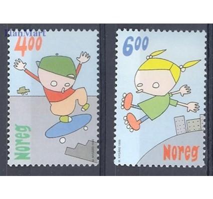 Norwegia 1999 Mi 1329-1330 Czyste **