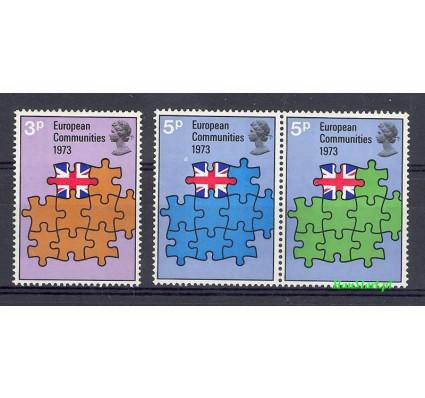 Znaczek Wielka Brytania 1973 Mi 612-614 Czyste **
