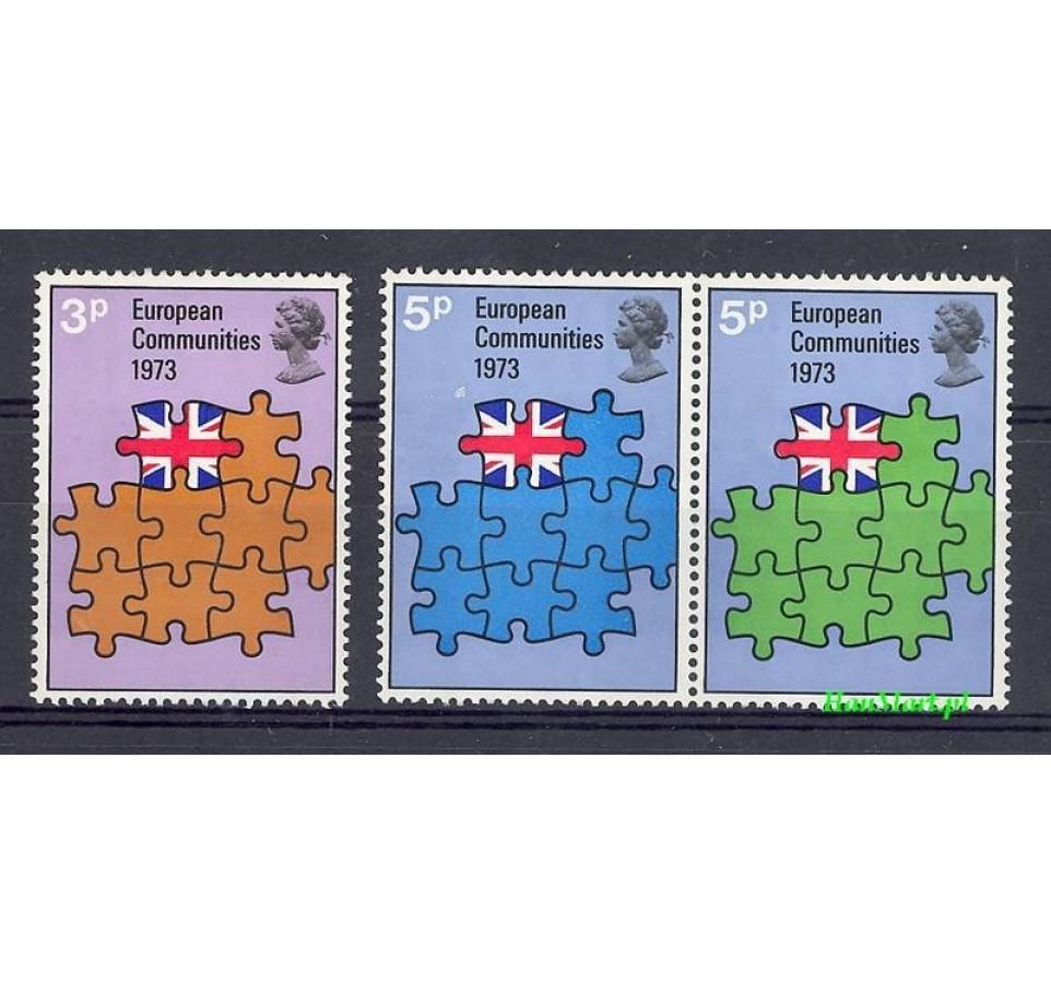 Wielka Brytania 1973 Mi 612-614 Czyste **