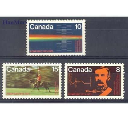 Znaczek Kanada 1973 Mi 521-523 Czyste **