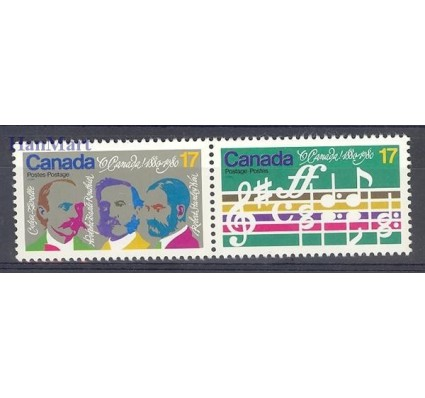Znaczek Kanada 1980 Mi 768-769 Czyste **