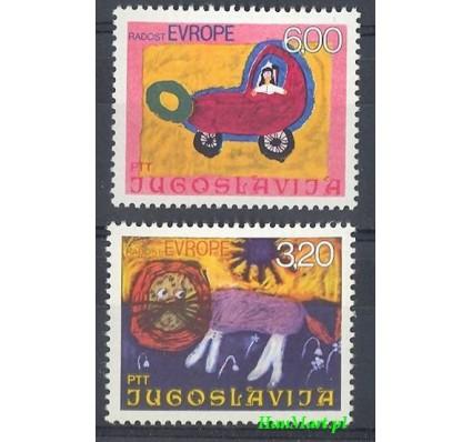 Jugosławia 1975 Mi 1615-1616 Czyste **
