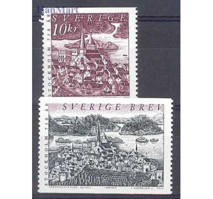 Znaczek Szwecja 2002 Mi 2289-2290 Czyste **