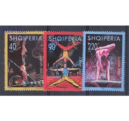 Znaczek Albania 2002 Mi 2866-2868 Czyste **