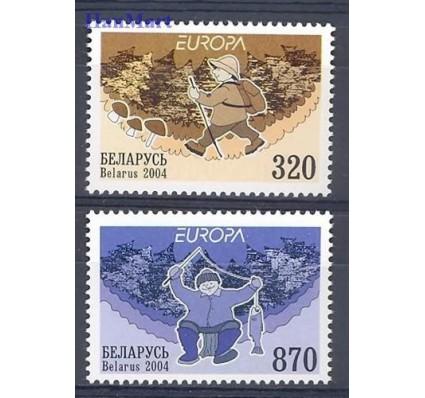Znaczek Białoruś 2004 Mi 543-544 Czyste **