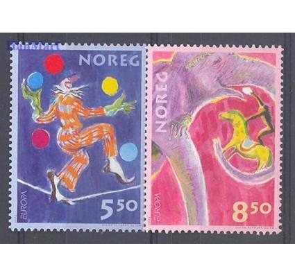 Norwegia 2002 Mi 1446-1447 Czyste **