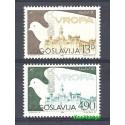 Jugosławia 1980 Mi 1857-1858 Czyste **