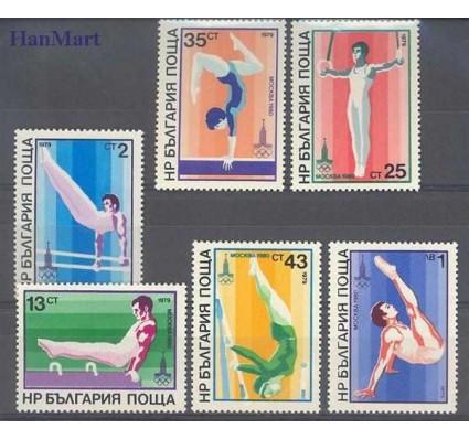 Znaczek Bułgaria 1979 Mi 2800-2805 Czyste **
