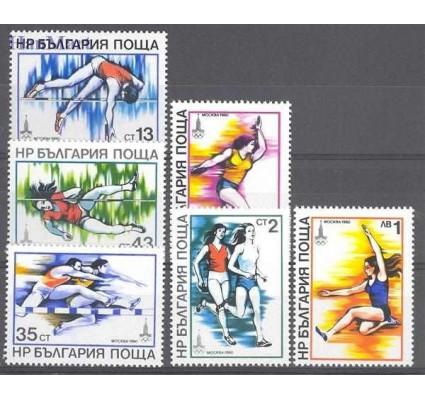Znaczek Bułgaria 1979 Mi 2832-2837 Czyste **