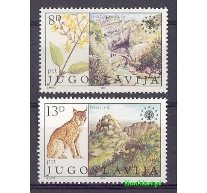 Znaczek Jugosławia 1981 Mi 1908-1909 Czyste **
