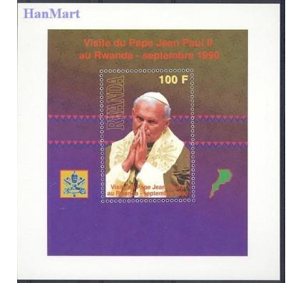 Znaczek Rwanda 1990 Mi bl 111 Czyste **