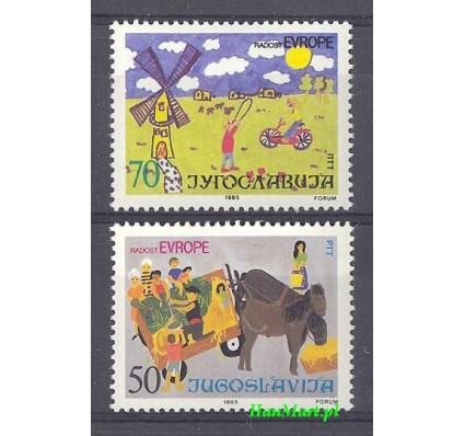 Znaczek Jugosławia 1985 Mi 2126-2127 Czyste **