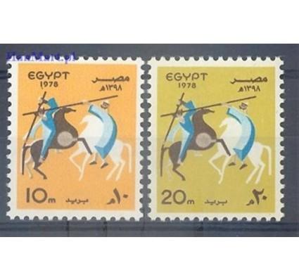 Znaczek Egipt 1978 Mi 1297-1298 Czyste **