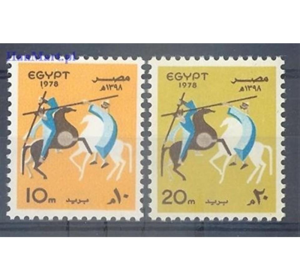Egipt 1978 Mi 1297-1298 Czyste **