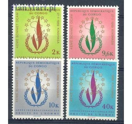 Znaczek Kongo Kinszasa / Zair 1969 Mi 326-329 Czyste **