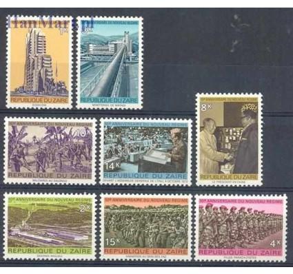 Znaczek Kongo Kinszasa / Zair 1975 Mi 510-517 Czyste **