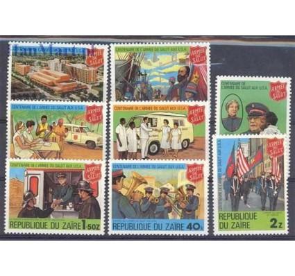 Znaczek Kongo Kinszasa / Zair 1980 Mi 647-654 Czyste **