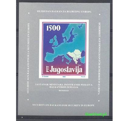 Jugosławia 1988 Mi bl 31 Czyste **