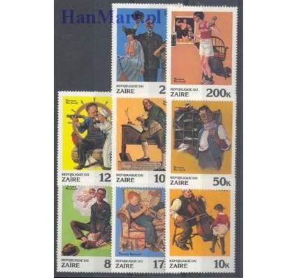 Znaczek Kongo Kinszasa / Zair 1981 Mi 708-715 Czyste **