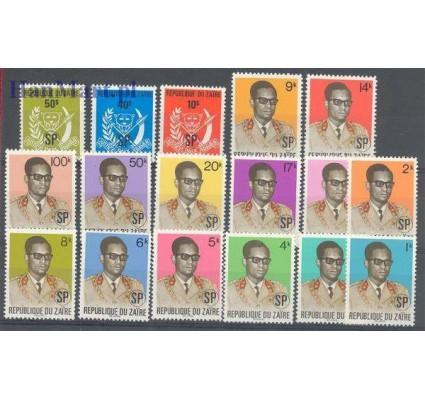 Znaczek Kongo Kinszasa / Zair 1975 Mi 1-17 Czyste **
