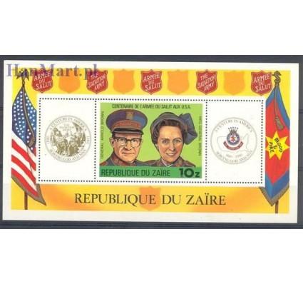 Znaczek Kongo Kinszasa / Zair 1980 Mi bl 34 Czyste **