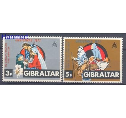 Gibraltar 1971 Mi 284-285 Czyste **
