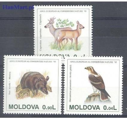 Znaczek Mołdawia 1995 Mi 158-160 Czyste **