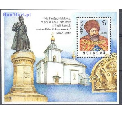 Znaczek Mołdawia 1999 Mi bl 20 Czyste **