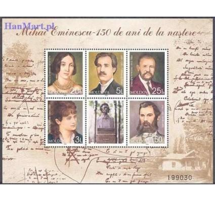 Mołdawia 2000 Mi bl 21 Czyste **