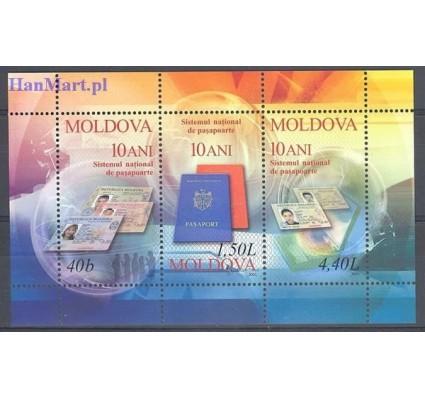 Mołdawia 2005 Mi bl 34 Czyste **