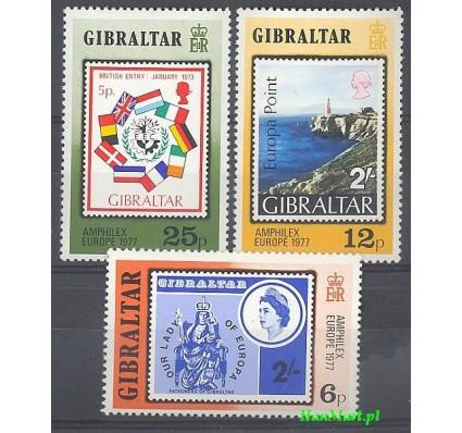 Gibraltar 1977 Mi 364-366 Czyste **